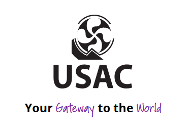 USAC University Studies Abroad Consortium logo, Your Gateway to the World