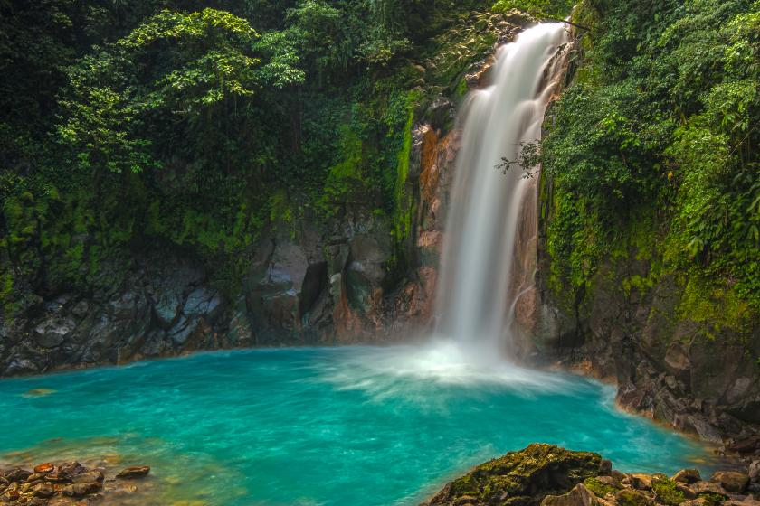 Photo of a Waterfall in Costa Rica