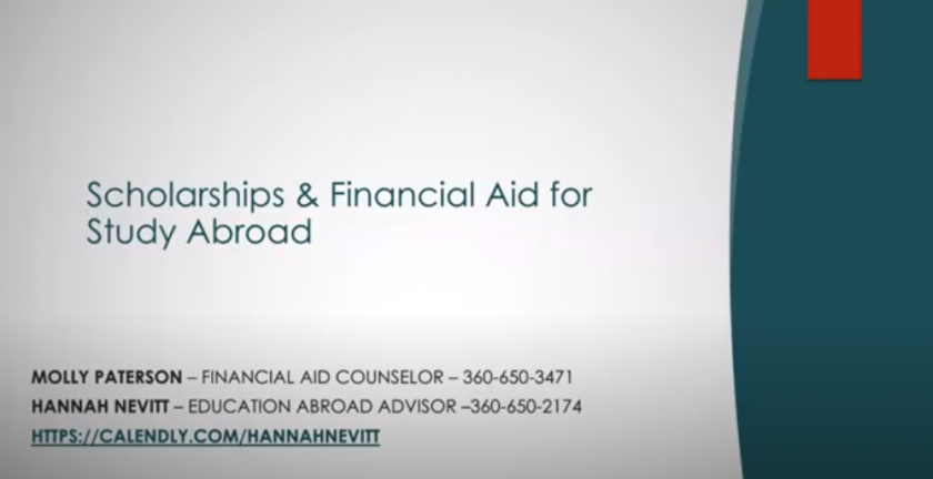 Scholarships and Financial Aid for Study Abroad at WWU