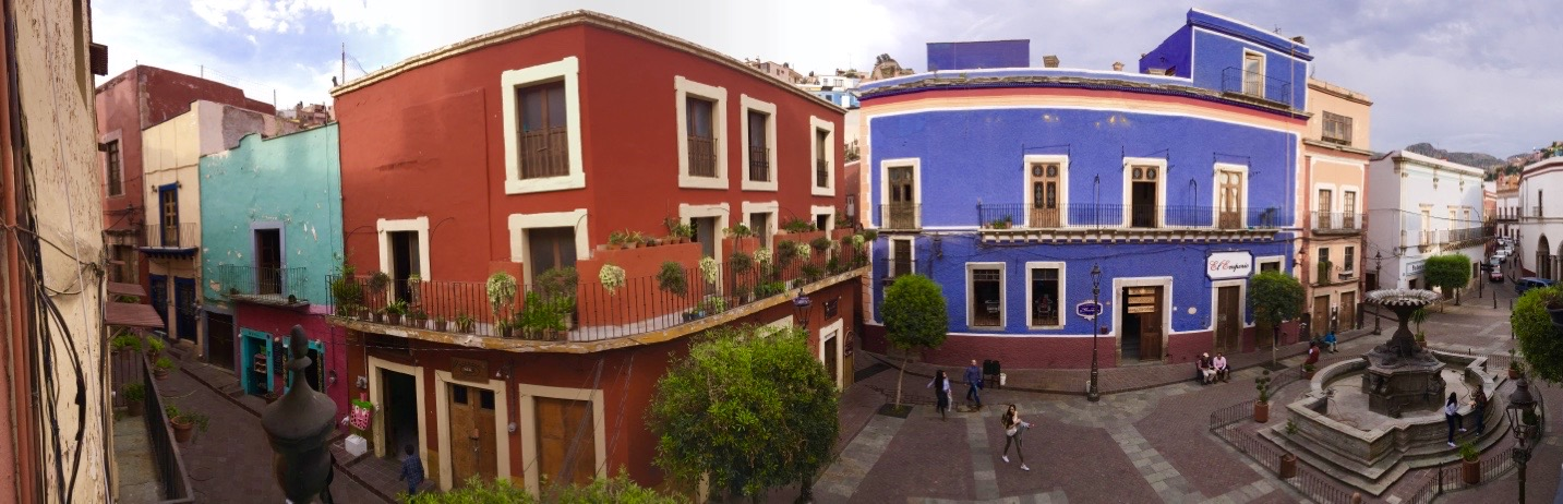 Historic Town of Guanajuato and Adjacent Mines Historical ... |Guanajuato Historical Places